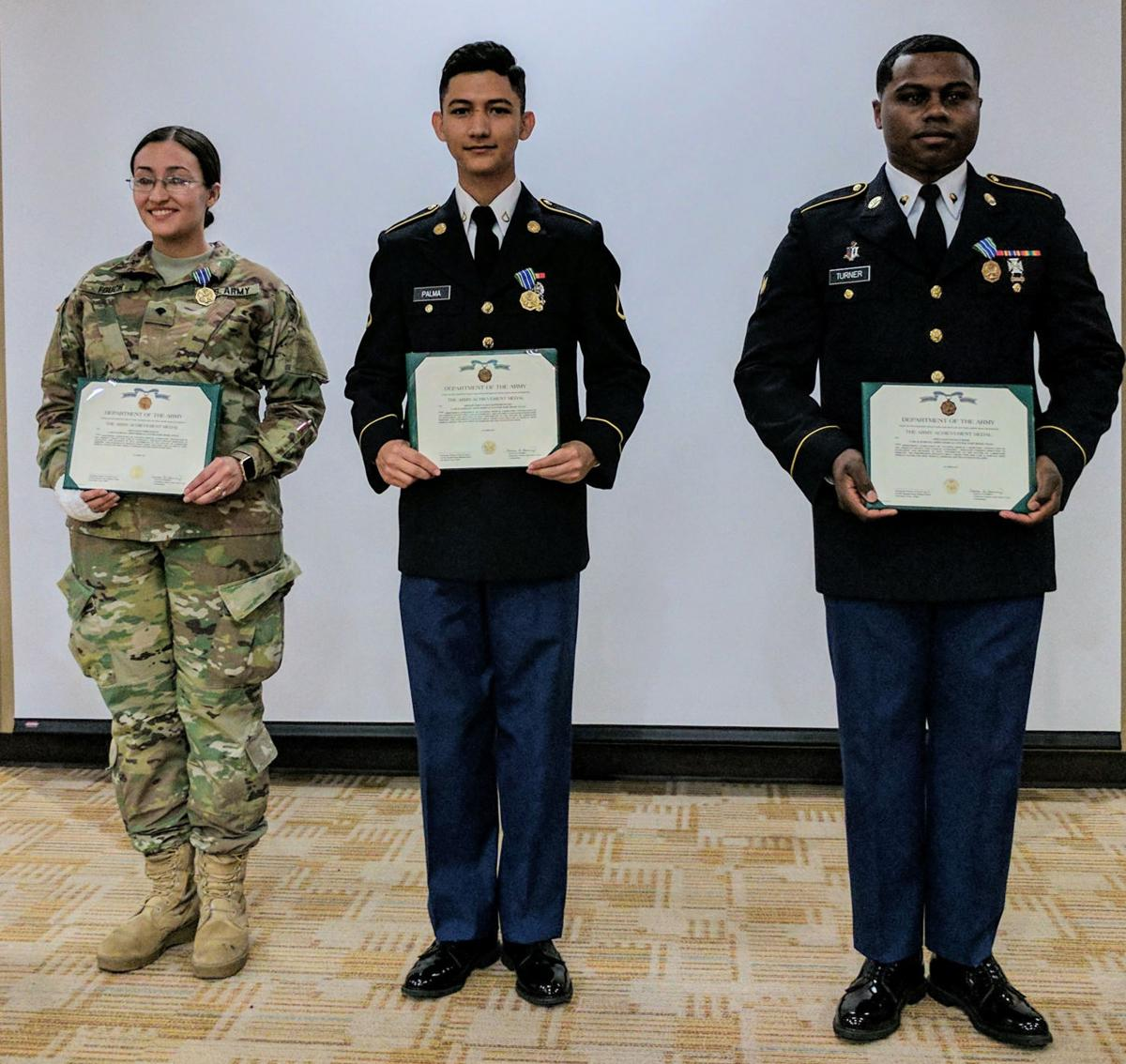 Army Medics Receive Medical Laboratory Technician Certification