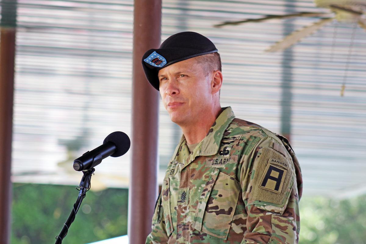 Command Sgt. Maj. Eric Olsen