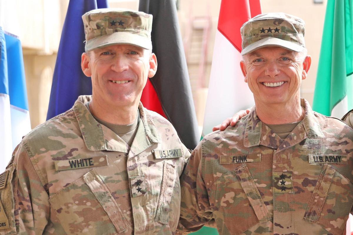 Maj. Gen. Pat White / Lt. Gen.Paul E. Funk II