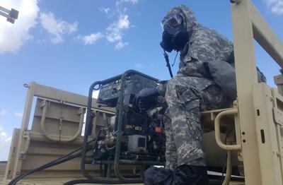 decontamination system tested