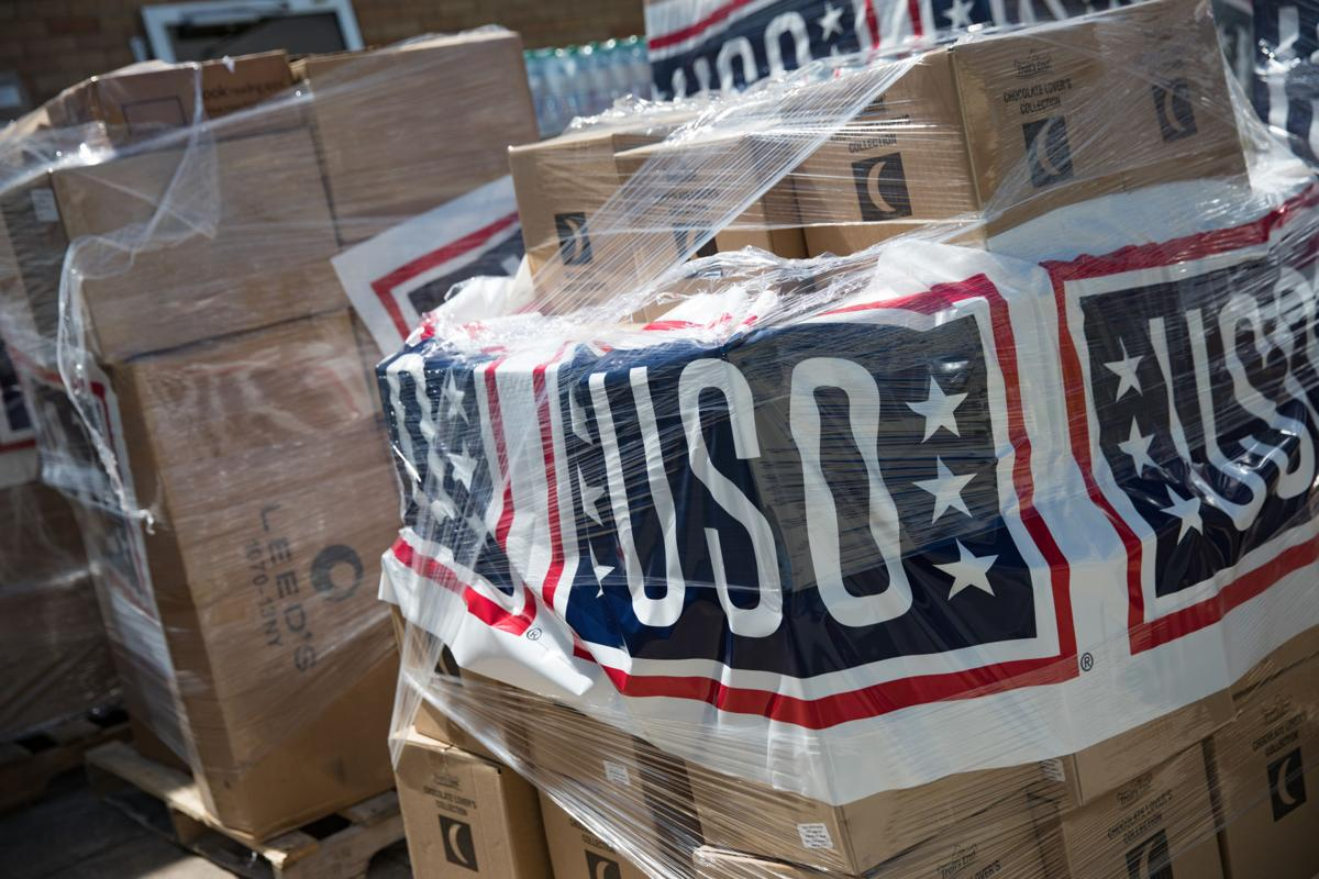 USO delivers kits