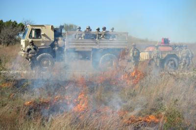 spot-fire suppression training