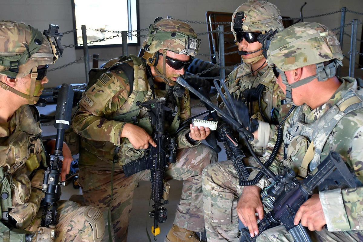 Regimental Squad Training Exercise