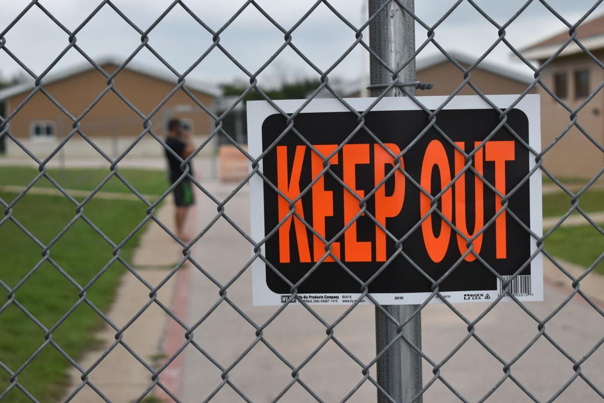 Quarantine area/KEEP_OUT
