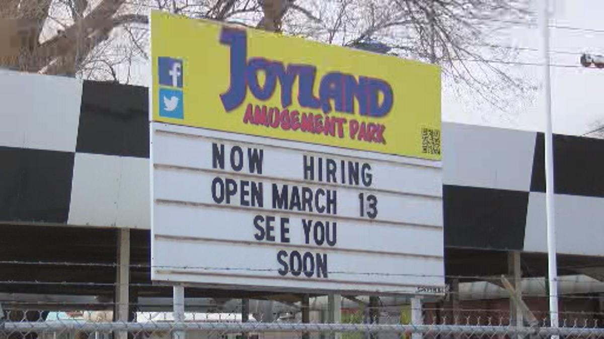 After Challenging 2020 Season Joyland Amusement Park Is Set To Open News Fox34 Com