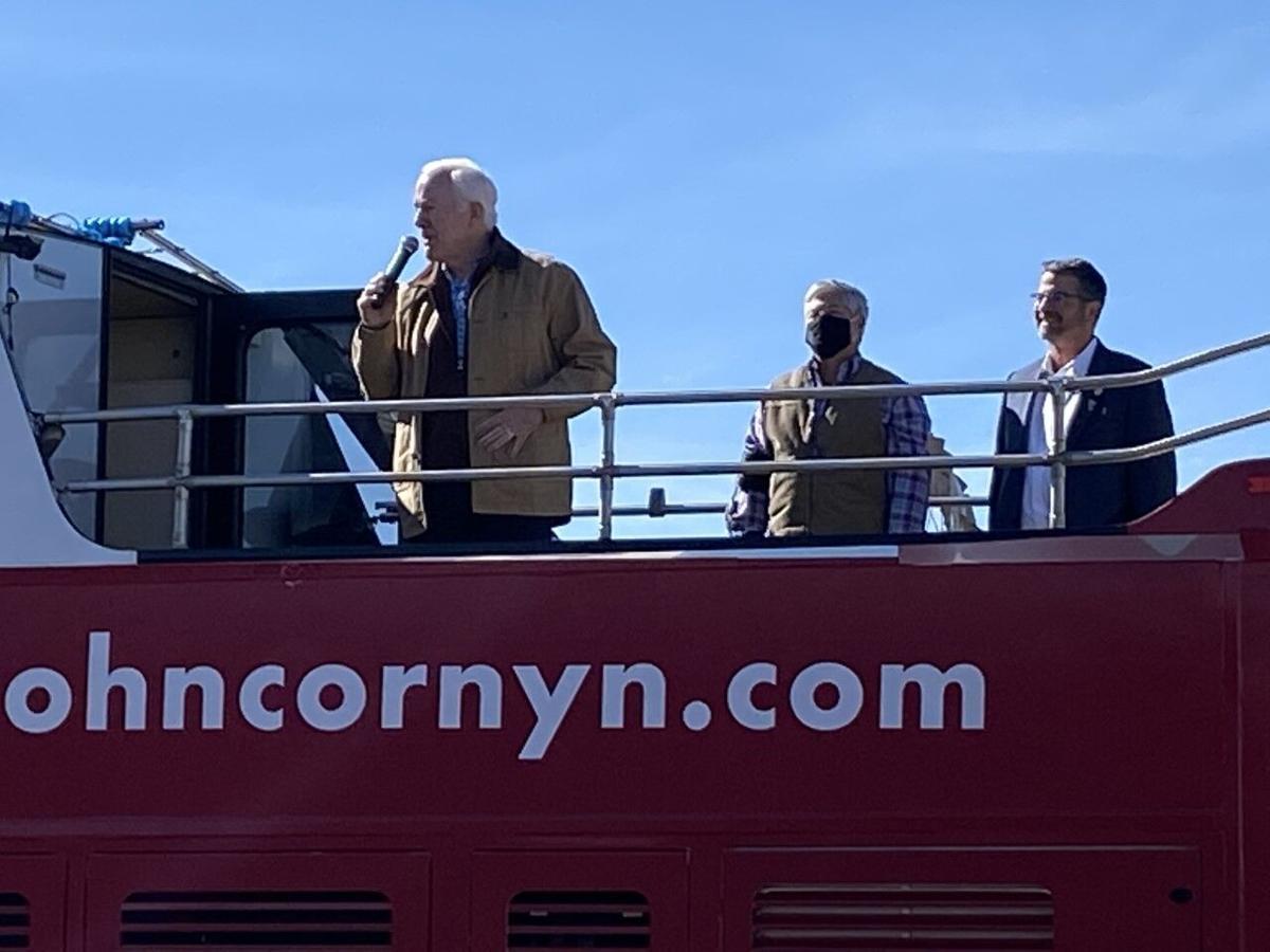 Cornyn stops in Lubbock