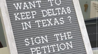 delta 8 ban petition