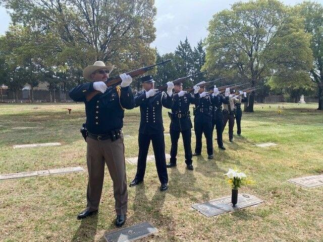 Honor guard training 2