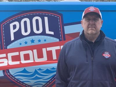 Tim Burke, franchisee of a Pool Scouts and GymGuyz