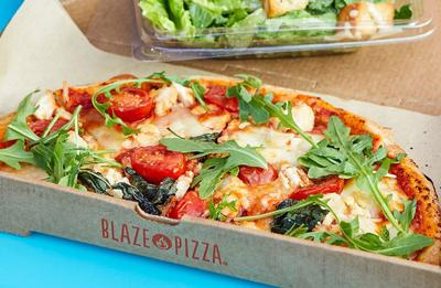 Blaze Pizza sustainability