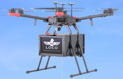 El Pollo Loco Delivery Drone