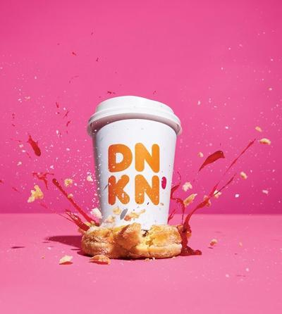 Dunkin' cup