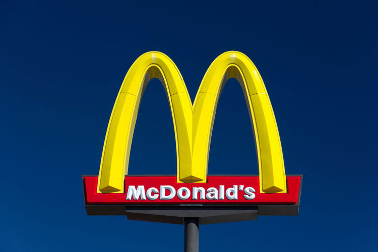 Large McDonald's Sign and Trademark Logo