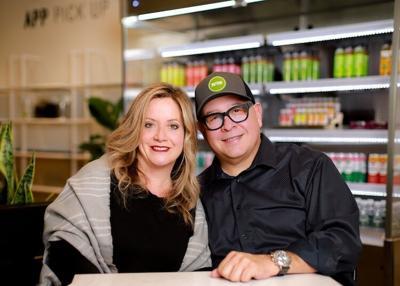 Pam Vivio and Mijo Alanis