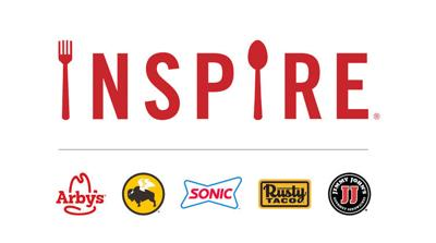 Inspire Logo with brands