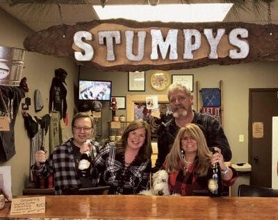 Stumpy's throws down the hatchet