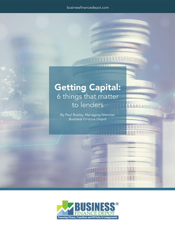 Getting Capital: 6 things that matter to lenders Cover