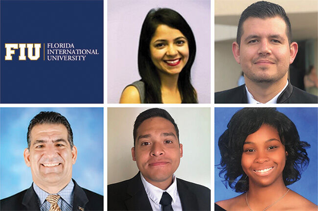 Florida International University winning team