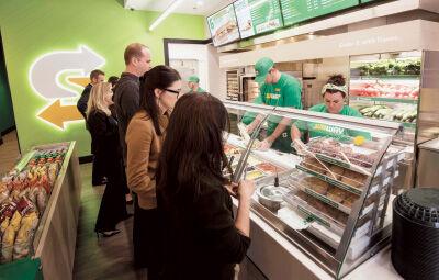 Subway grants spur store remodels