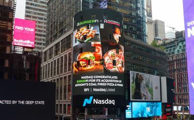 BurgerFi billboard