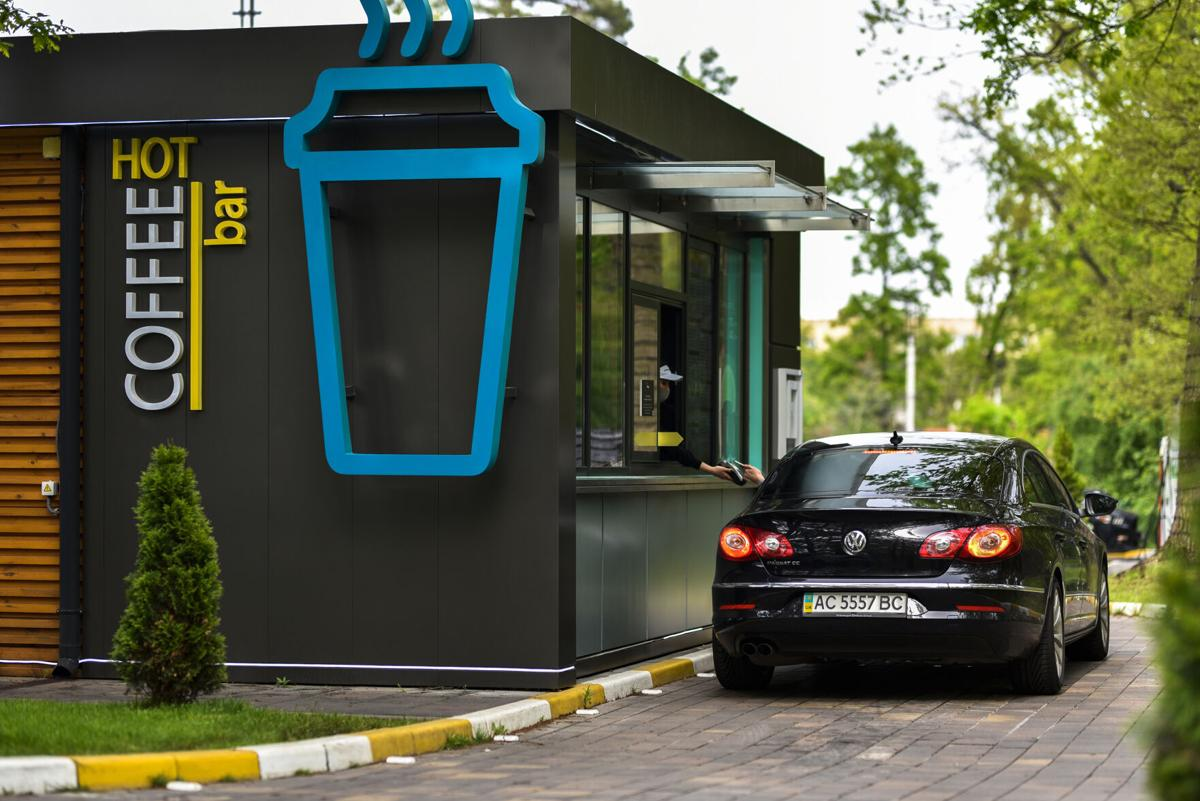 Drive-thru Coffee Shop