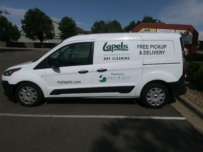 Lapels Dry Cleaning van