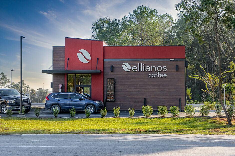 Ellianos Coffee kiosk