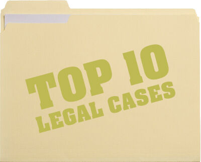 Top 10 legal cases of 2015