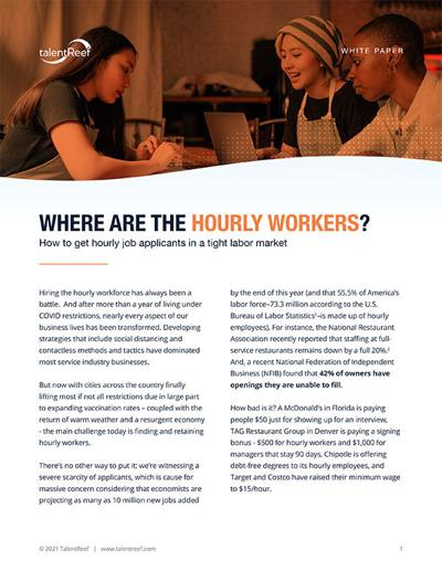 Where are the hourly workers? Cover