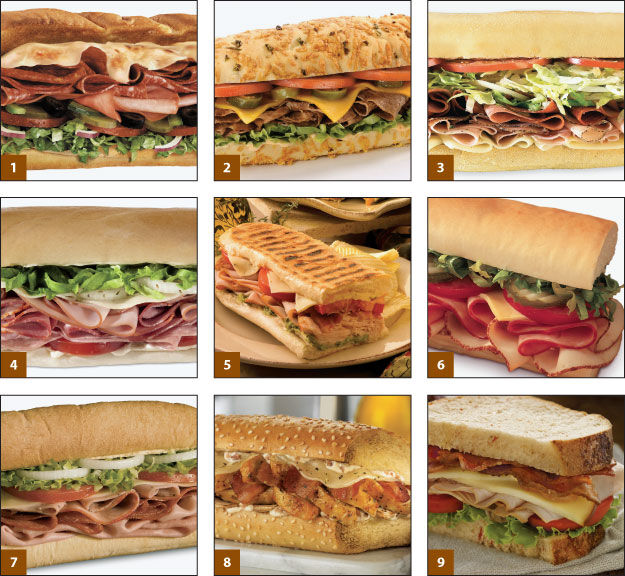 Know your sandwiches