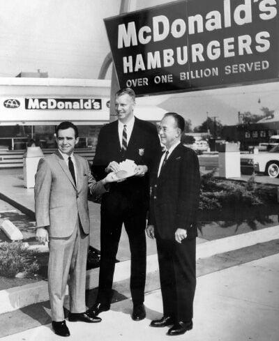 'New franchise. McDonald's. Call Ray Kroc.'