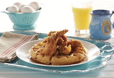 Another Broken Egg Cafe Chicken and Waffles