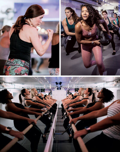 Fitness concepts angle for competitive edge