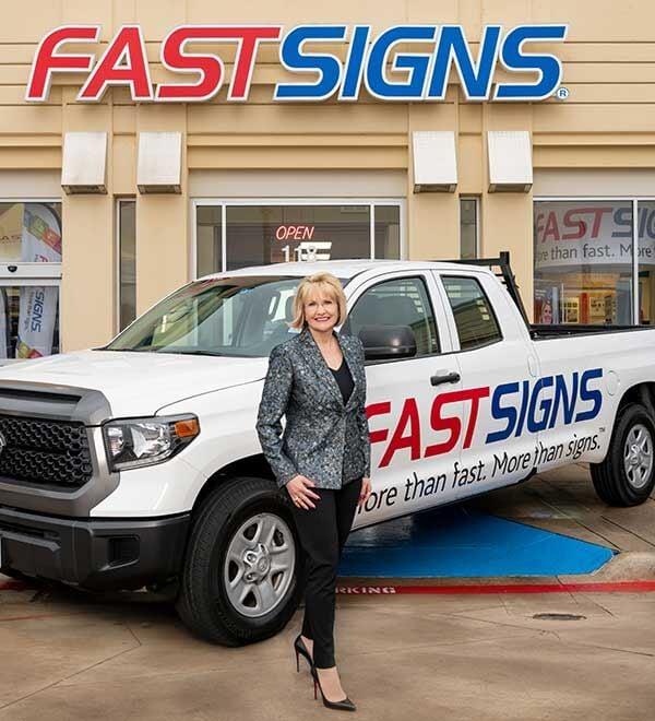 Catherine Monson Fastsigns CEO