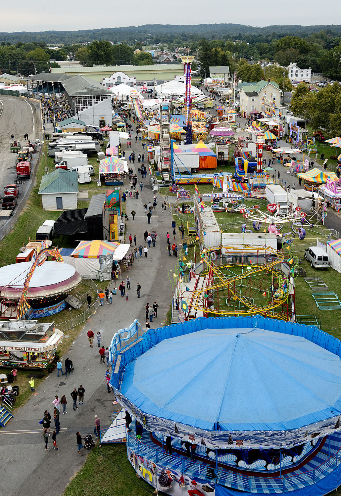 Fair View from above