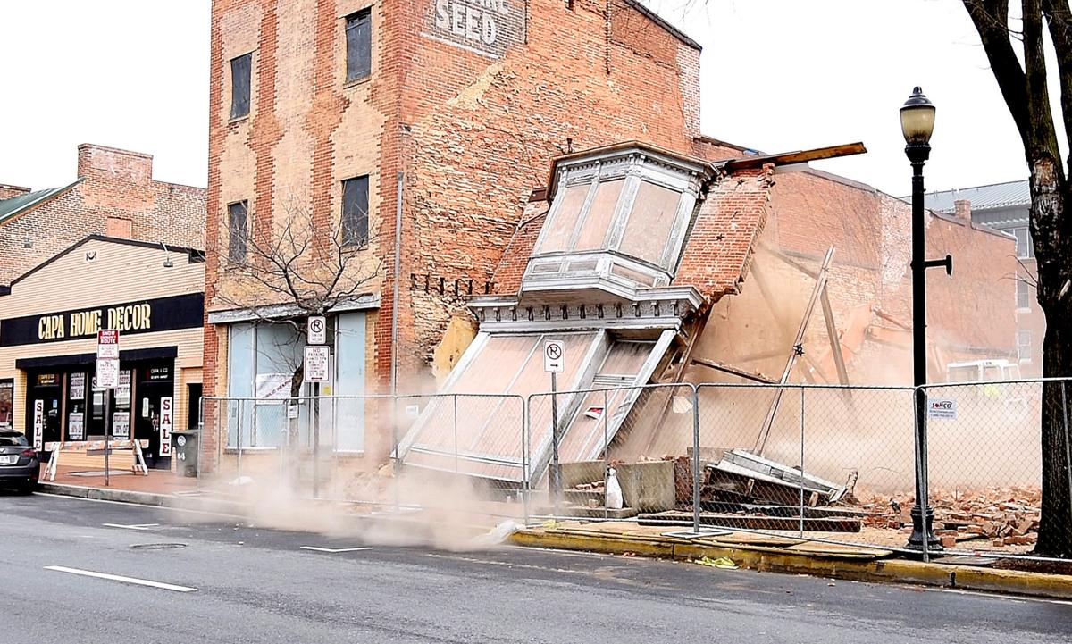 Demolition Of South Market Street Facades Stirs Up Dust Discussion Real Estate And Development Fredericknewspost Com