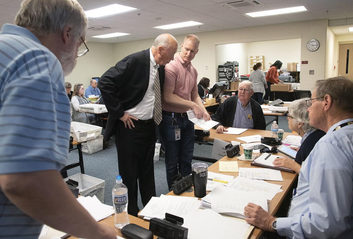 Absentee ballot counting 1