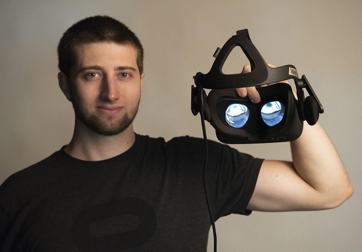 Student invented VR software 1