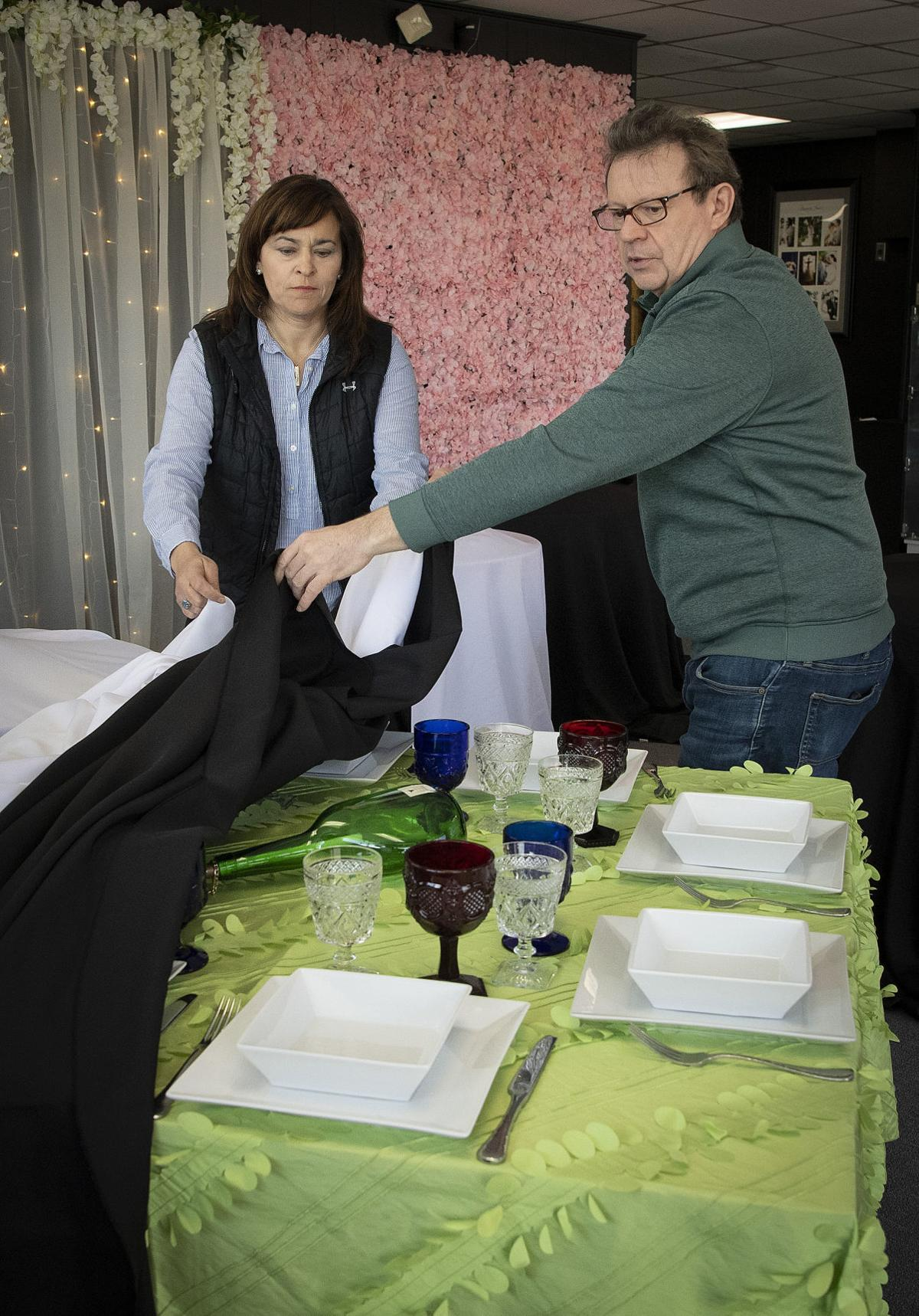 COVID Tent Event