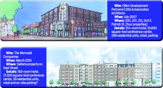 Past Downtown Hotel plans 1