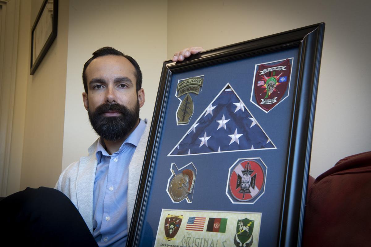 Afghanistan Vet Sean Moore