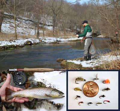 Today's Sportsman: Winter fly fishing tips and tricks