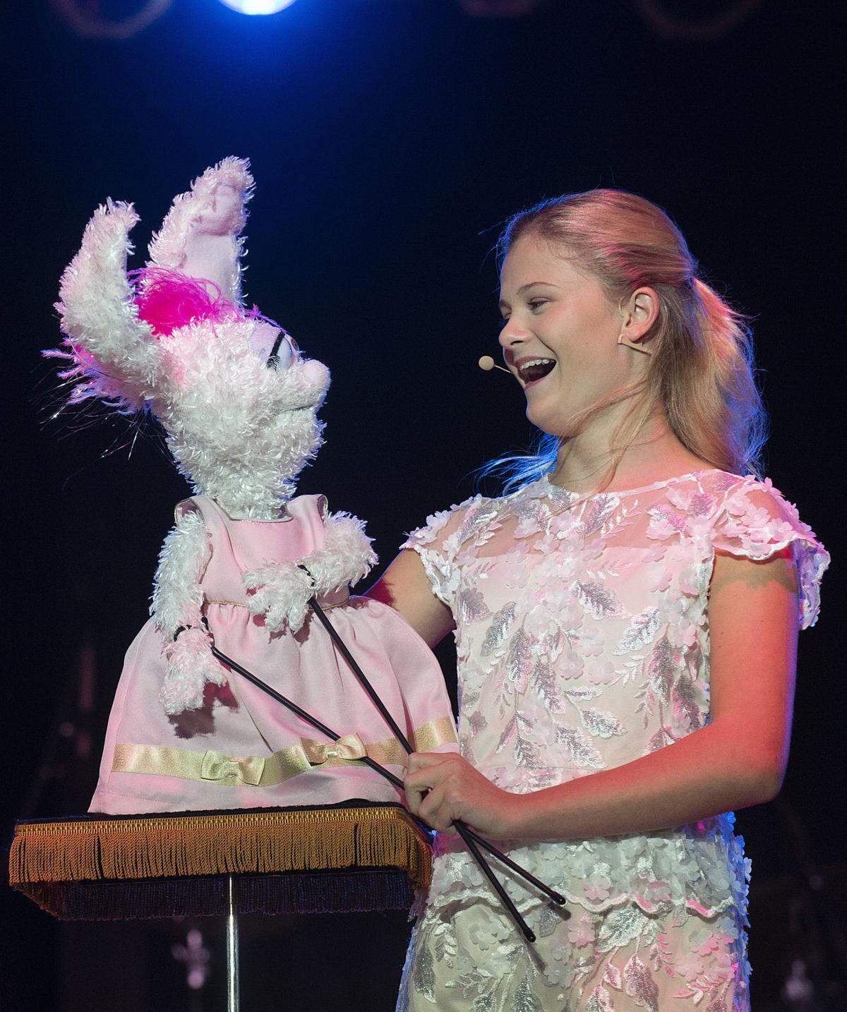 Darci Lynne brings singing, yodeling and ventriloquism to