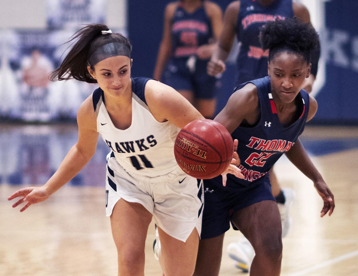 UHS vs. TJHS girls basketball