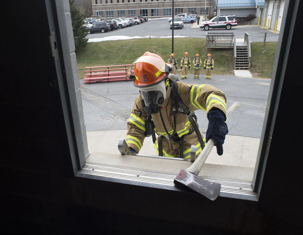 DG Frederick County fire academy recruits 4