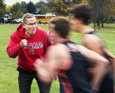 Don Boyer - MHS cross country coach