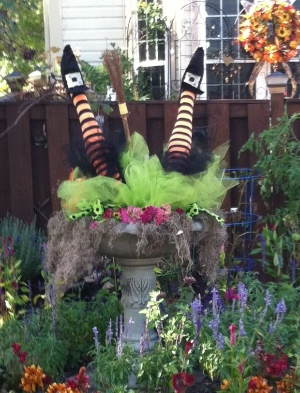 diy halloween - Do It Yourself Halloween Decorations For The Yard