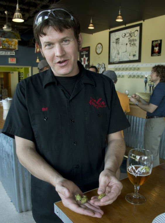 Brewery supports local hop growers