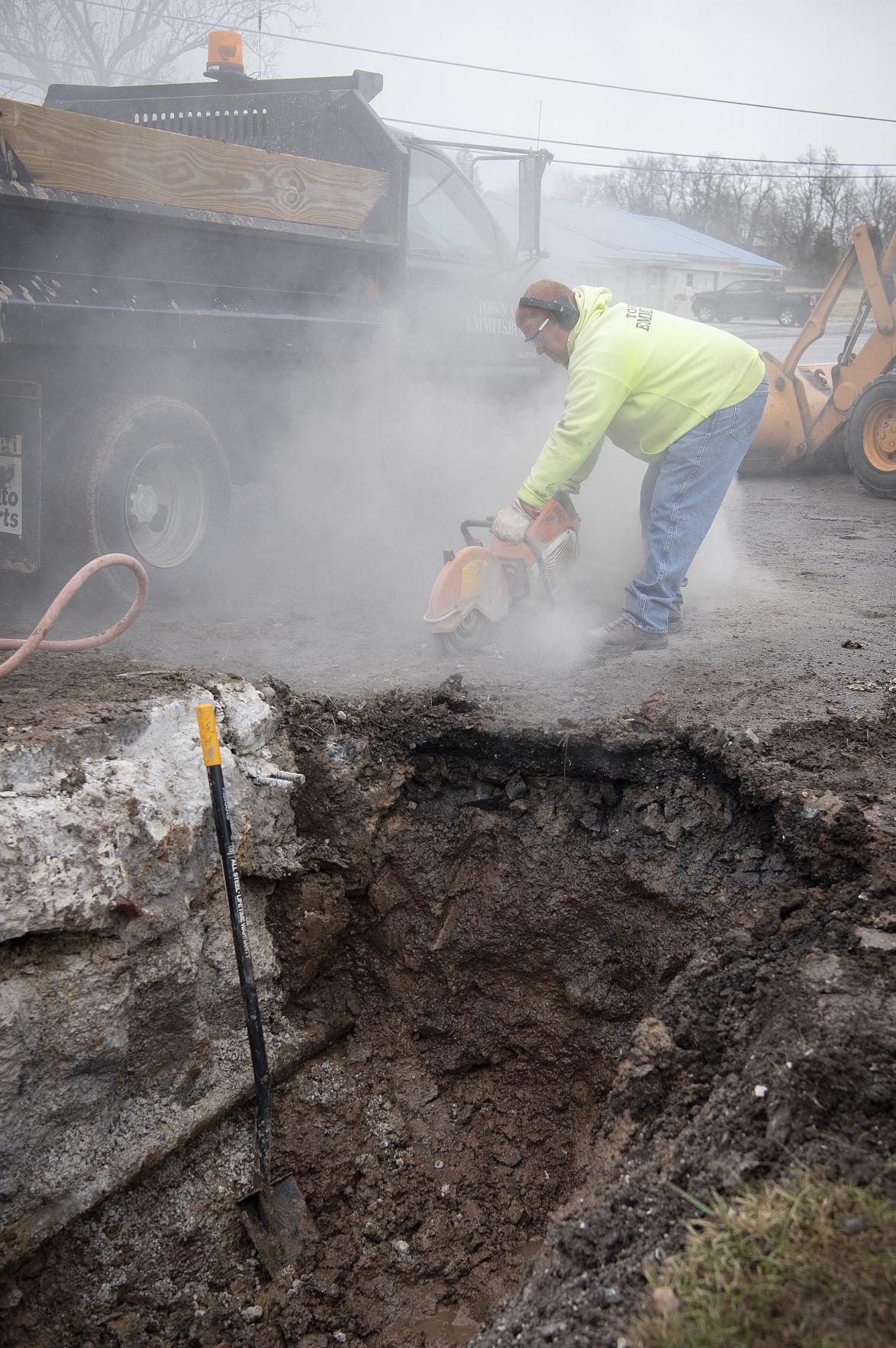 Emmitsburg Water Leak (copy)