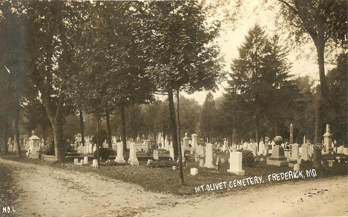 Mt Olivet Cemetery-1909-1